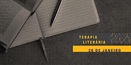 TERAPIA LITERÁRIA | Felicidade ingressos