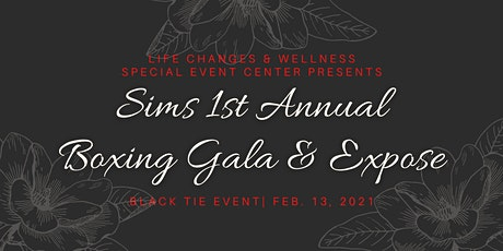 Sims1st Annual Boxing Gala & Expose tickets