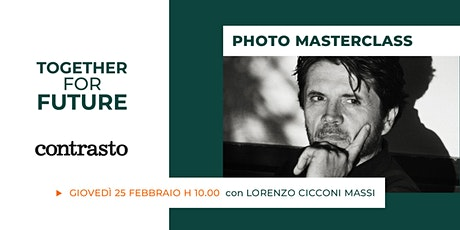 Raccontare con la fotografia: incontro con Lorenzo Cicconi Massi biglietti