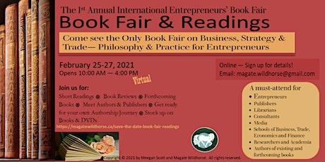 Annual International Entrepreneurs'  Book Fair & Readings tickets