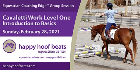 Cavaletti Work Level 1 — Intro the Basics — Equestrian Coaching Edge™ tickets