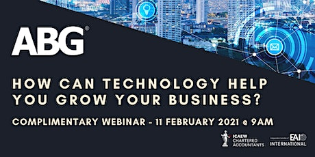 How can technology help you grow your business? tickets