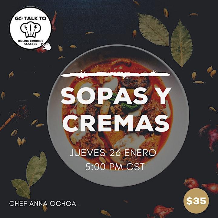 Imagen de CREMAS Y SOPAS