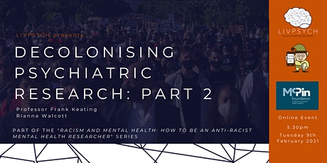 Decolonising Psychiatric Research: Part 2 tickets