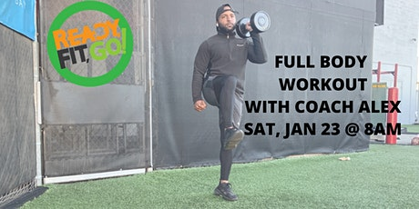 8am X Ready Fit Go x Full Body Workout tickets