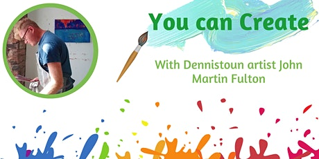 You can Create with John Martin Fulton tickets