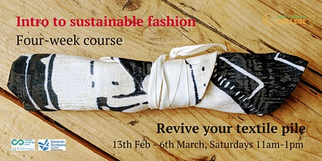 Intro to sustainable fashion - 4-week course tickets