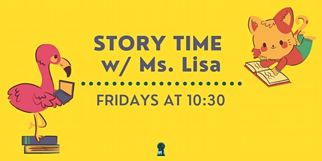 Story Time with Ms. Lisa tickets