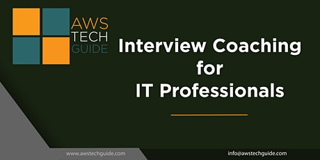 Interview Coaching for AWS, Microservices , Kubernetes, DevOps - 4 sessions tickets