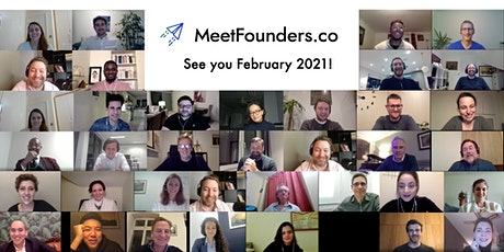 MeetFounders [USA - Feb 2021] VC Investment Panels + Pitches tickets