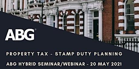 SDLT - Stamp Duty Land Tax Planning tickets