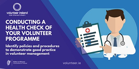 Conducting a health check of your volunteer programme tickets