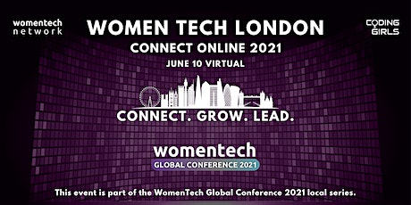 WomenTech London - Connect Online (Employer Tickets) tickets