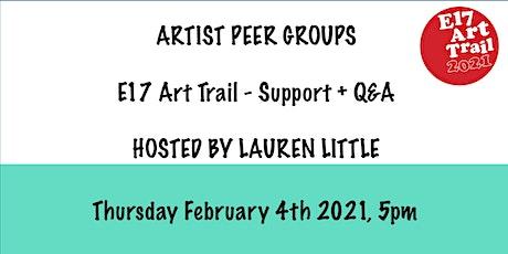 E17 Art Trail Peer Group - Group Show / Emerging Artists - Lauren Little tickets