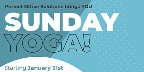 Perfect Office Presents- Sunday Yoga! tickets