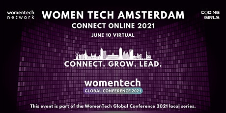 WomenTech Amsterdam - Connect Online (Employer Tickets) tickets