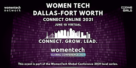 WomenTech Dallas-Fort Worth - Connect Online (Employer Tickets) tickets