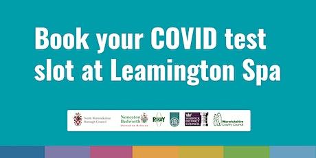 Leamington COVID Community Testing Site - 25th January tickets