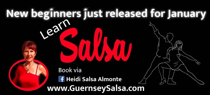 Salsa & Bachata PARTIES - All Welcome - Free  (Learn to Dance with Heidi) image