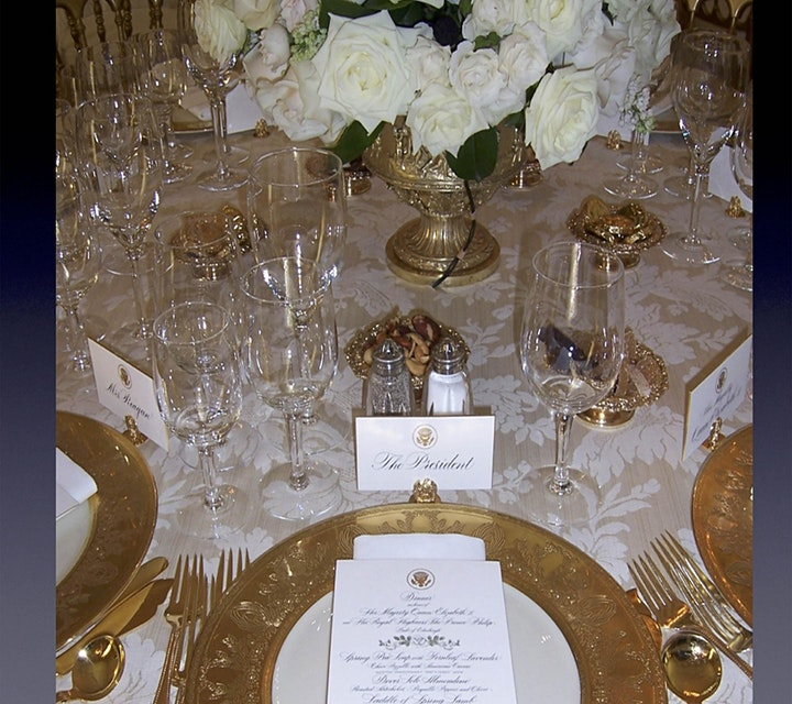 Virtual First Ladies Night: Calligraphy at the White House image