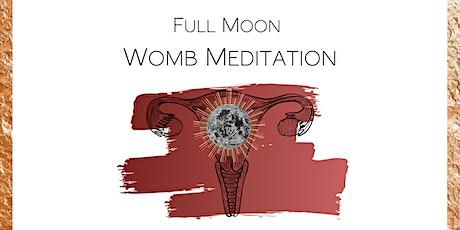 Full Moon Womb Meditation tickets