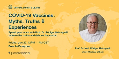 COVID-19 Vaccines: Myths, Truths & Experiences tickets