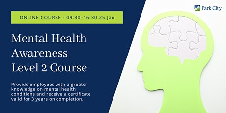 Online Mental Health Awareness Level 2 tickets