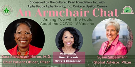 An Armchair Chat: Arming You with the Facts About the COVID-19 Vaccine tickets