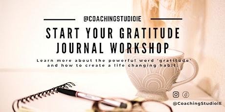 Start Your Gratitude Journal Workshop tickets