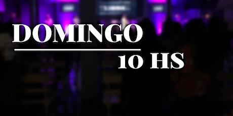 DOMINGO 10HS entradas