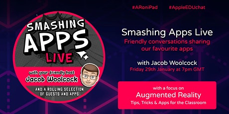 Smashing Apps Live: Augmented Reality Tips, Tricks + Apps from Teachers tickets