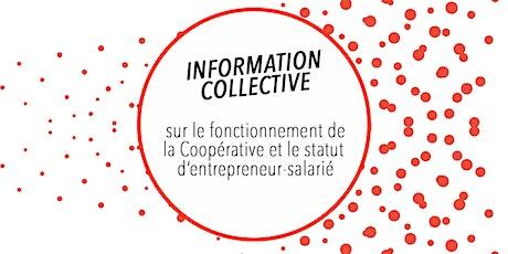 Visio ZOOM CAE CLARA et CLARAbis - Réunion d'information collective 8/12 billets