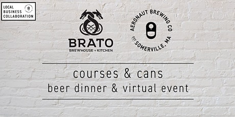 Courses & Cans: a Brato & AERONAUT collaboration tickets