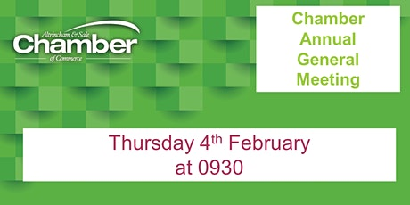 Chamber Annual General Meeting tickets