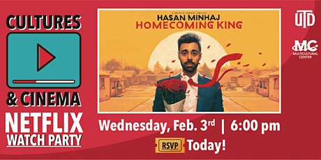 Cultures&Cinema viewing Hasan Minhaj: Homecoming King tickets