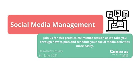 Social Media Management for Practices tickets