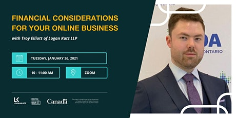 Financial Considerations For Your Online Business tickets
