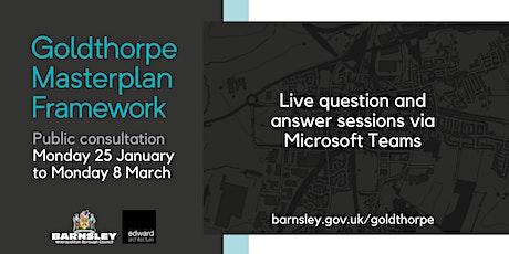 Goldthorpe Masterplan Framework Consultation tickets