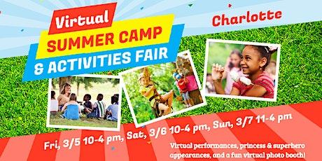 Charlotte Camp & Activities Fair (Virtual) tickets
