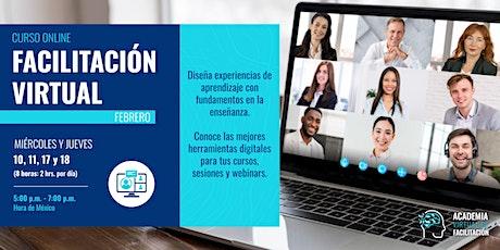Facilitación Virtual: De Presencial a Digital en solo 4 Sesiones tickets