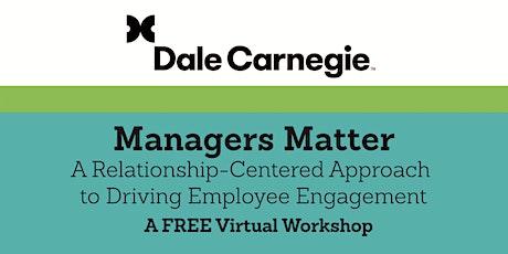 Managers Matter- Part 1 tickets