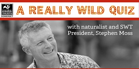 REALLY WILD CHARITY QUIZ with Stephen Moss tickets