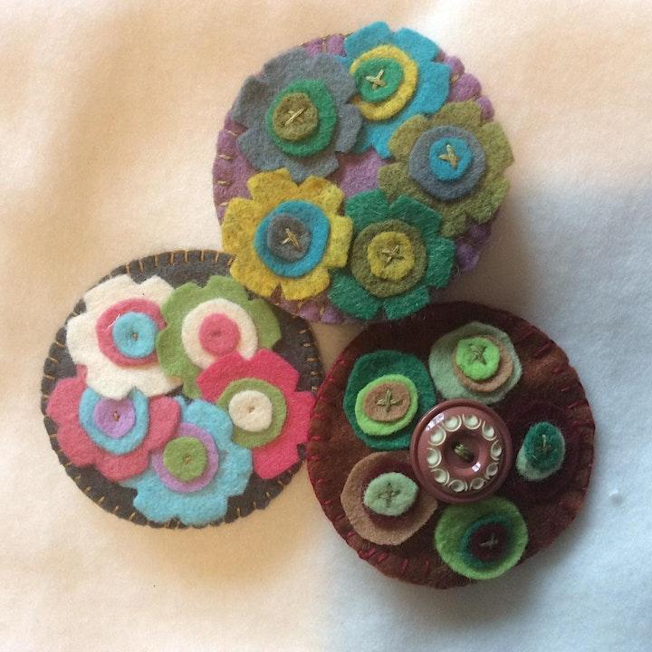 Creative Hand Stitching - Zoom Trio image