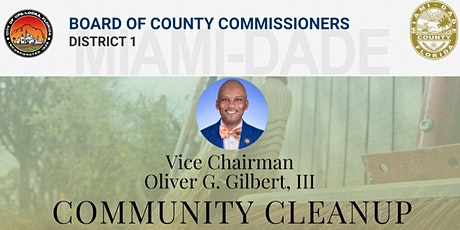 Vice Chairman Oliver G. Gilbert, III Community Cleanup tickets