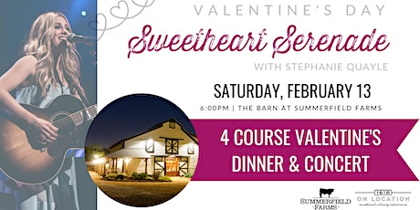 Sweetheart Serenade Valentine's Dinner [SATURDAY 2.13.21] tickets