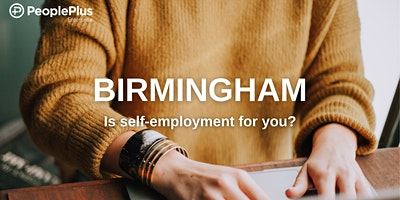 Birmingham, is self-employment for you?