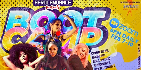 Dance Bootcamp - Afrobeats, Commercial, Bhangra, Sofa and more! tickets