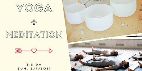 Restorative Yoga + Crystal Bowl Meditation tickets