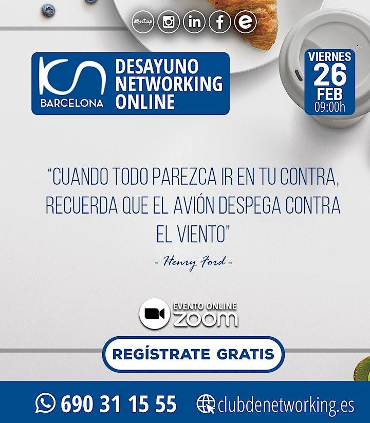 Imagen de KCN Barcelona DESAYUNO NETWORKING ONLINE 26-Feb
