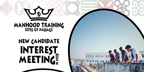 Manhood Training Interest Meeting Pt 2 tickets